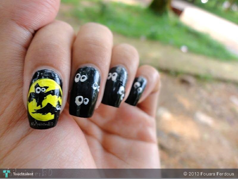 -Halloween-Nails-Black-Bat-Mummy-112378
