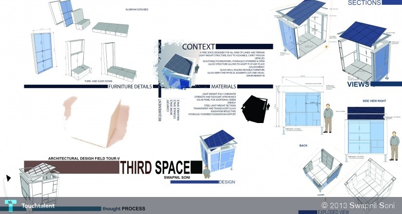 3d Space Portable Space Design Swapnil Soni