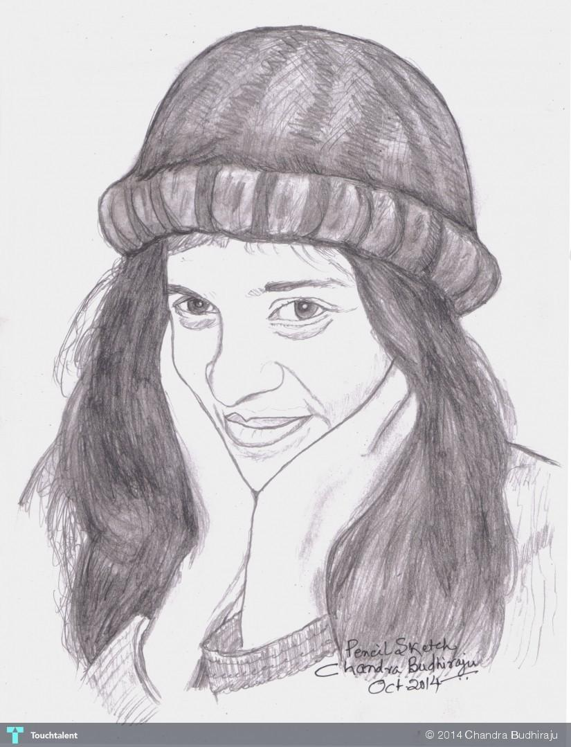 Artist ankita sinha a simple pencil sketch with and 2 other 2 others