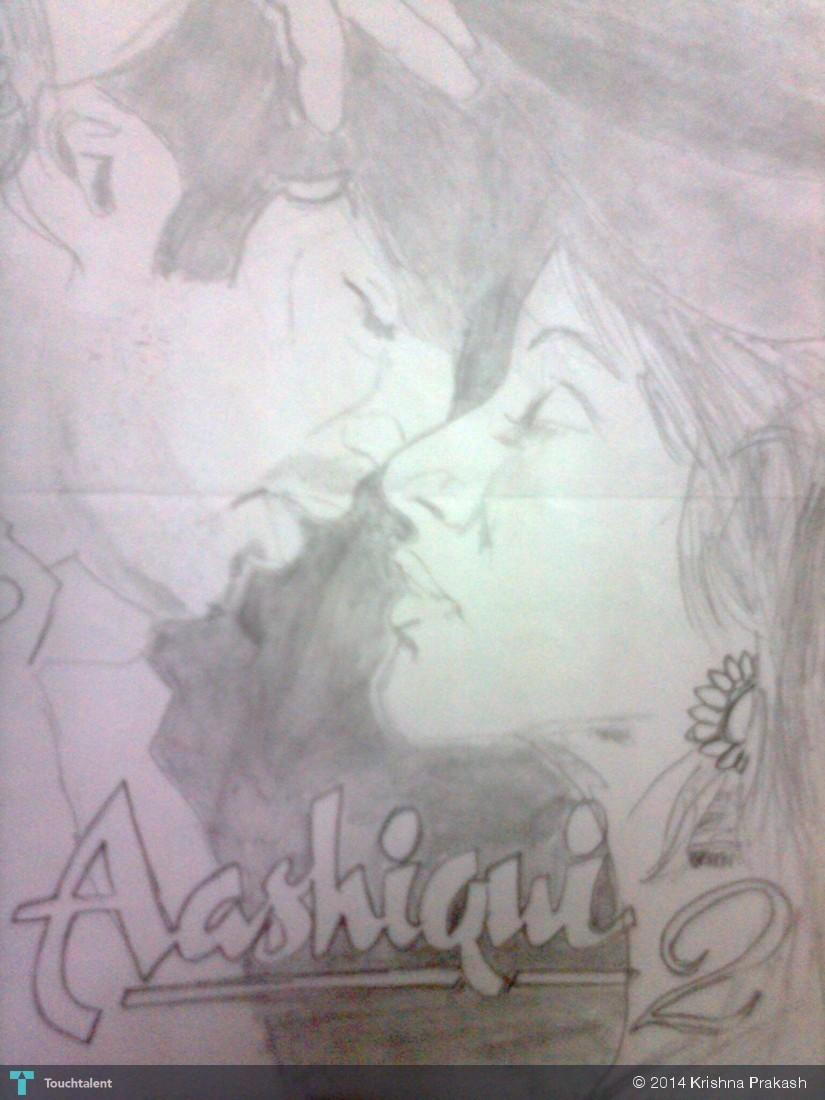 Aashiqui 2 in sketching by krishna prakash
