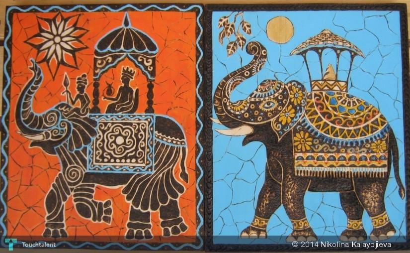 Batik - Pirografia - 3D Art | Nikolina Kalaydjieva | Touchtalent
