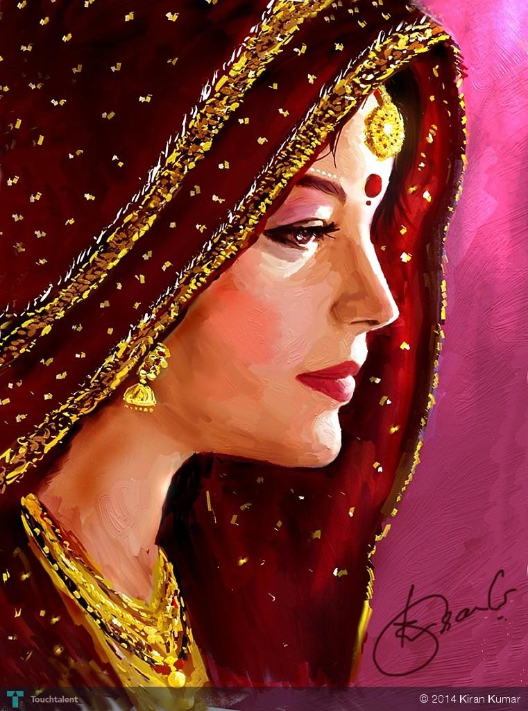 paintings of beautiful women