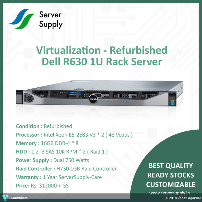 Buy Dell R630 Refurbished Server Online In India