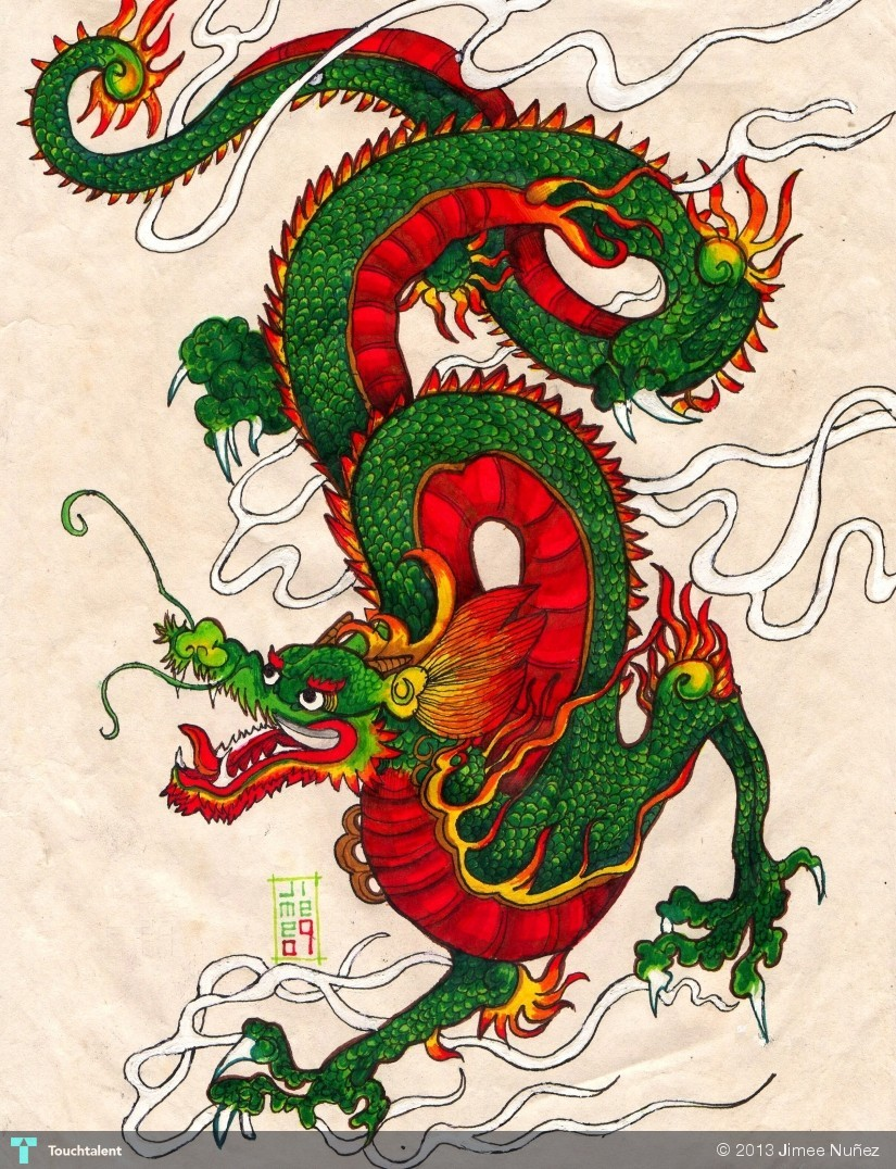 Art - Chinese on Pinterest | Chinese Dragon, Dragons and ...
