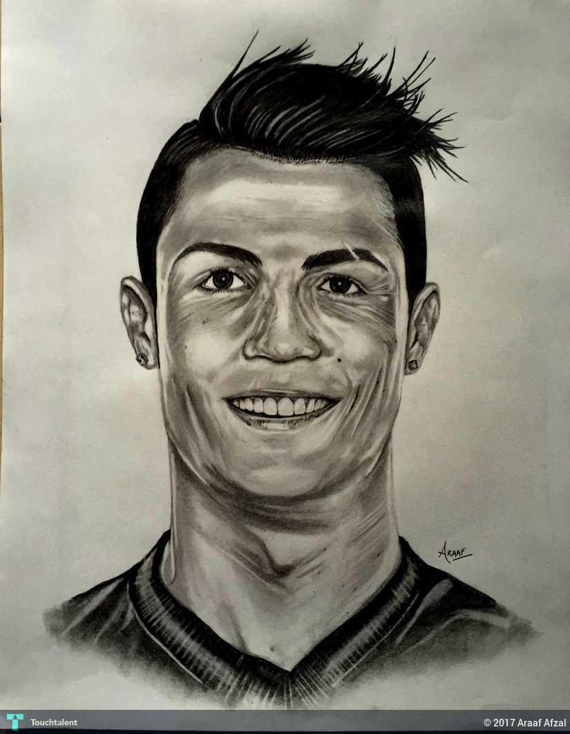 Cristiano Ronaldo Touchtalent For Everything Creative