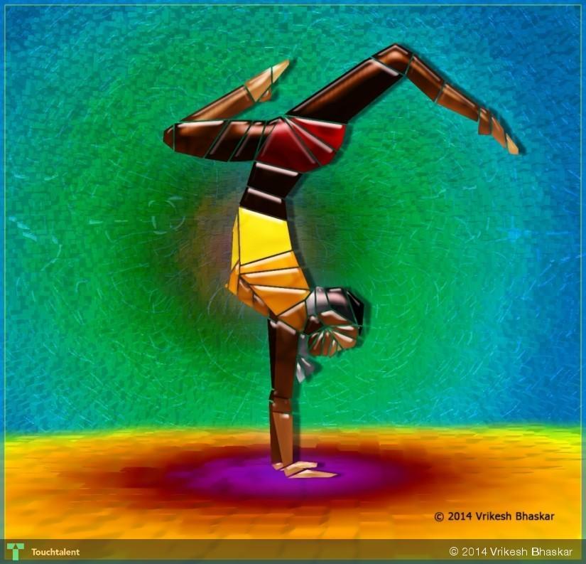 Dance #Gestures in Digital Art