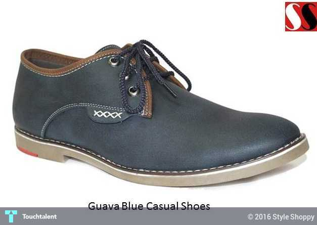 Designer Guava Blue Casual Shoes Online From StyleShoppy in Fashion by  Style Shoppy 922d315e2b4