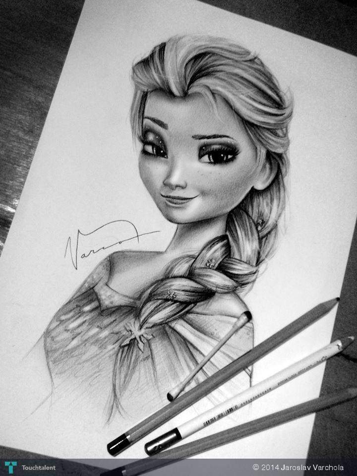 Pictures Of The Drawings Of Elsa Everyone Loves To Draw Elsa On We