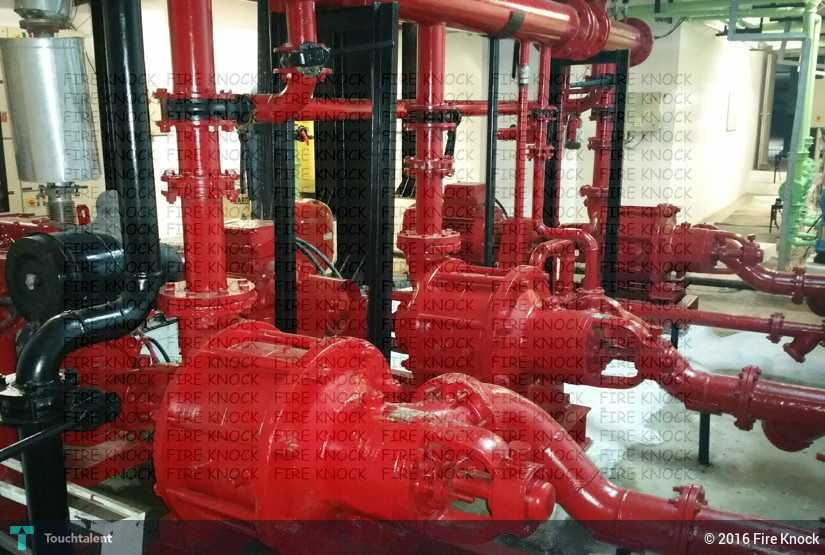 FIRE FIGHTING PUMP ROOM LAYOUT | Touchtalent - For