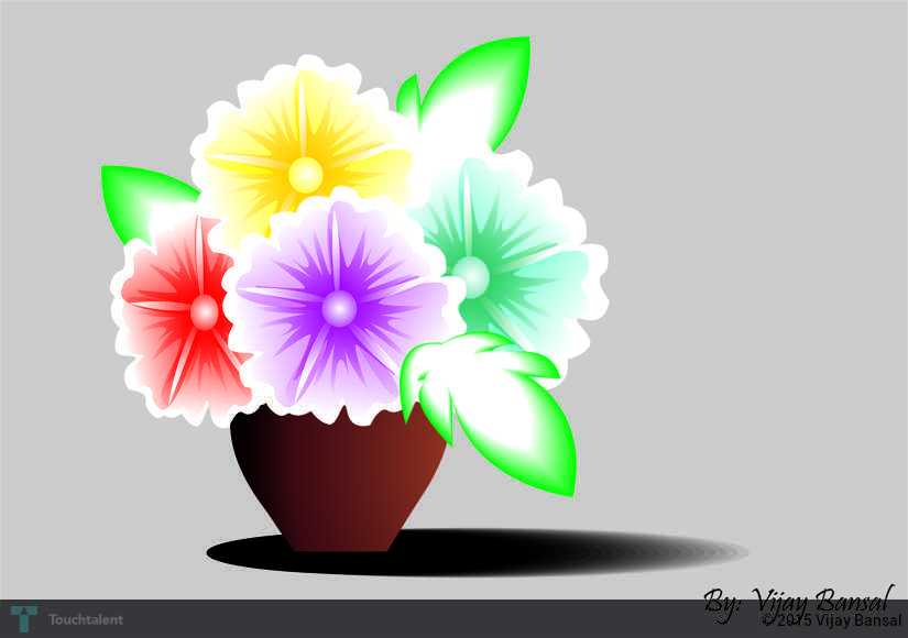 Flower Pot Designs To Draw The Best Flowers Ideas
