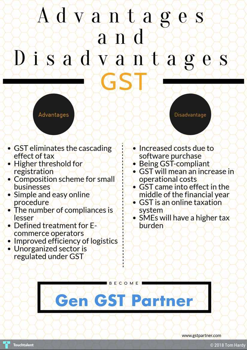 GST Benefits: Advantage And Disadvantage Of GST | Touchtalent - For
