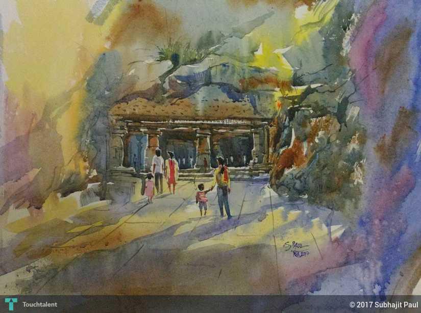 elephanta caves paintings - photo #36