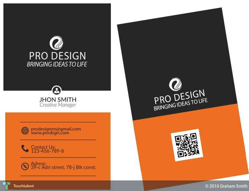 Graphic Design Business Card Services | Touchtalent - For ...