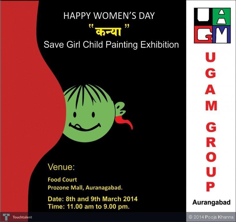 save girl child ppt