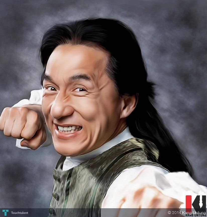 Jackie chan retouching with smudge tool touchtalent for jackie chan retouching with smudge tool in digital art by kang untung sciox Gallery
