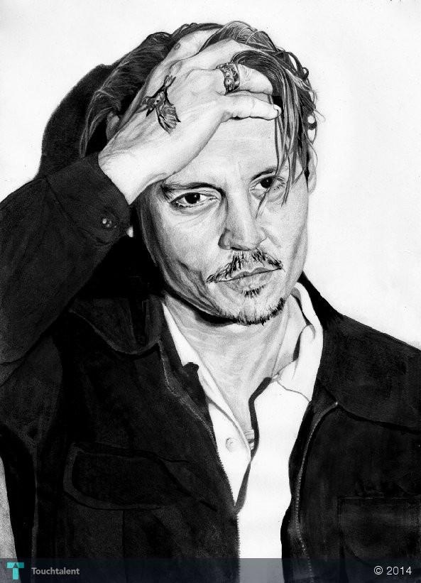 Johnny Depp - Sketchin... Johnny Depp