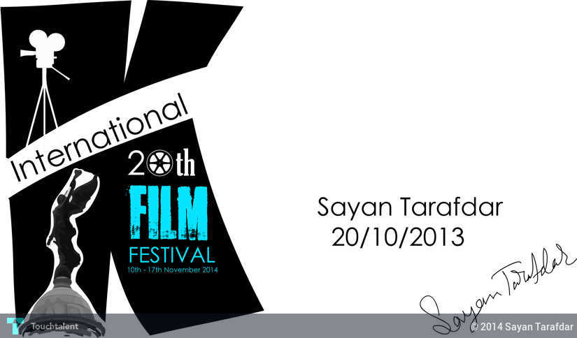 Kolkata International Film Festival Poster 2 Digital Art 364015