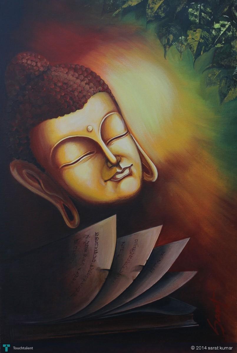 LORD BUDDHA in Painting
