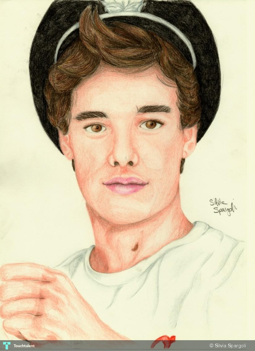 Liam Payne Drawing - Painting | Silvia Spargoli | Touchtalent