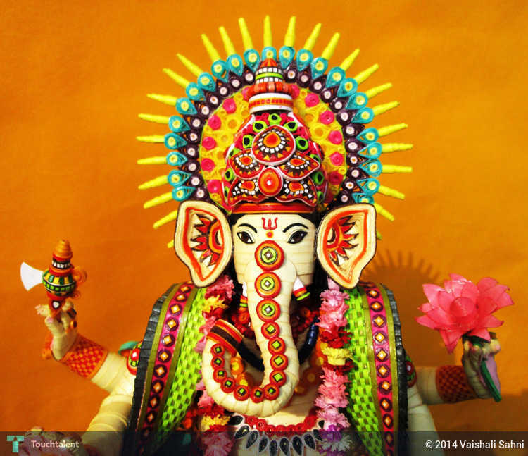 Lord Ganesha (Upper Part) - 3D Art | Vaishali Rastogi ...