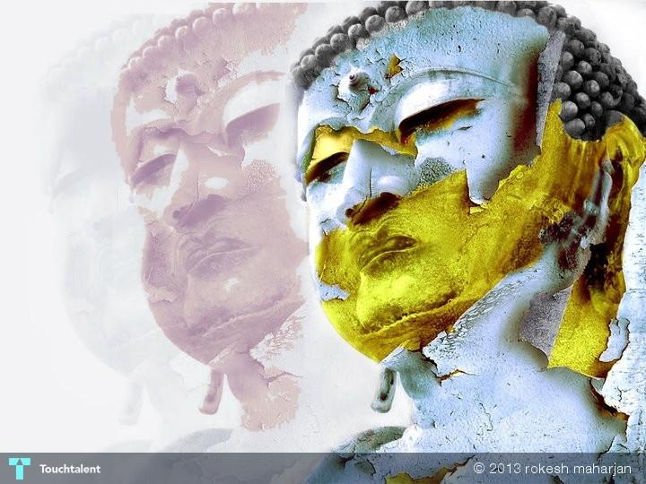 lord gautam buddha born in nepal   design rokesh maharjan
