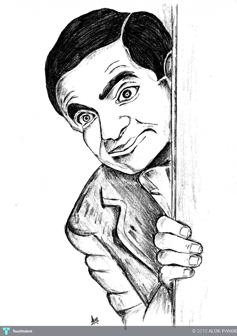 Disegni Da Colorare Mr Bean.Mr Bean Touchtalent For Everything Creative