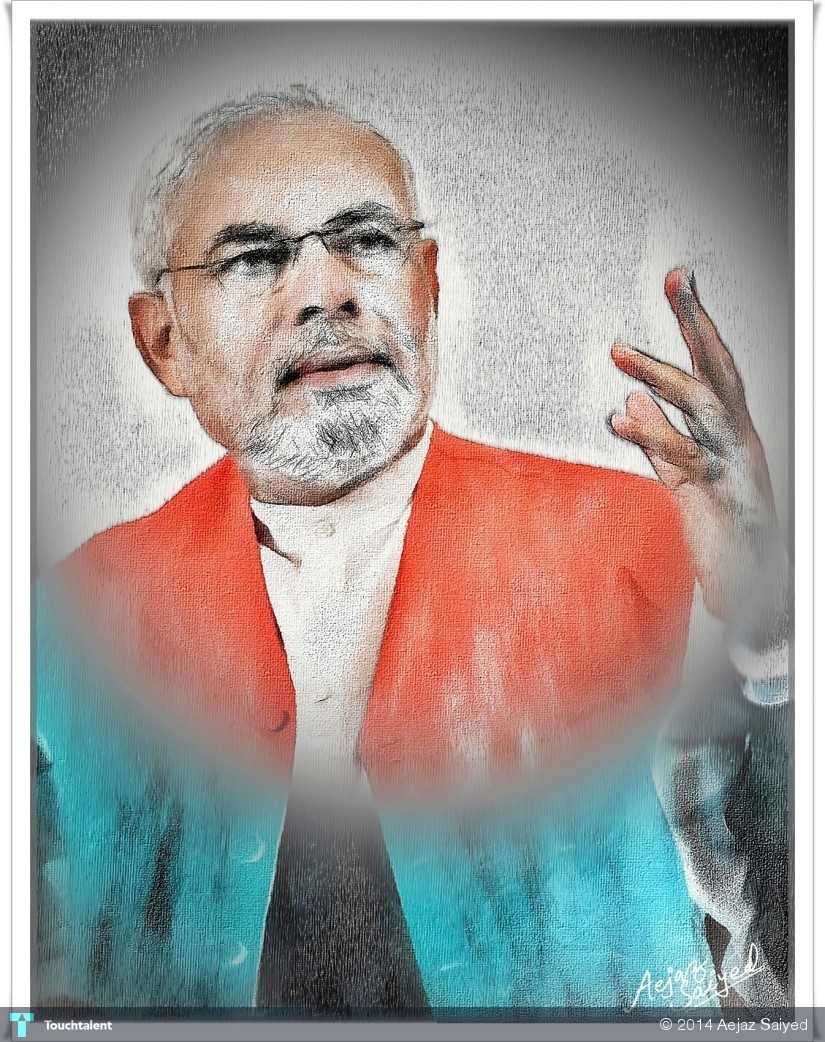 Narendra Modi in Digital Art