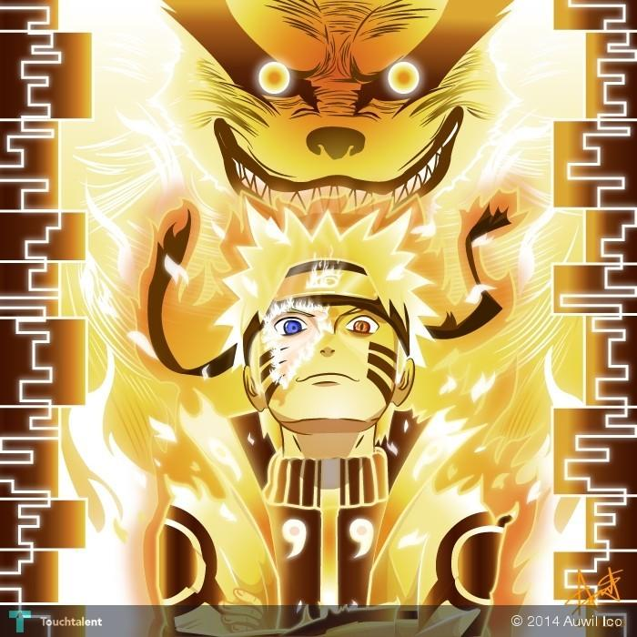 naruto bijuu mode touchtalent for everything creative