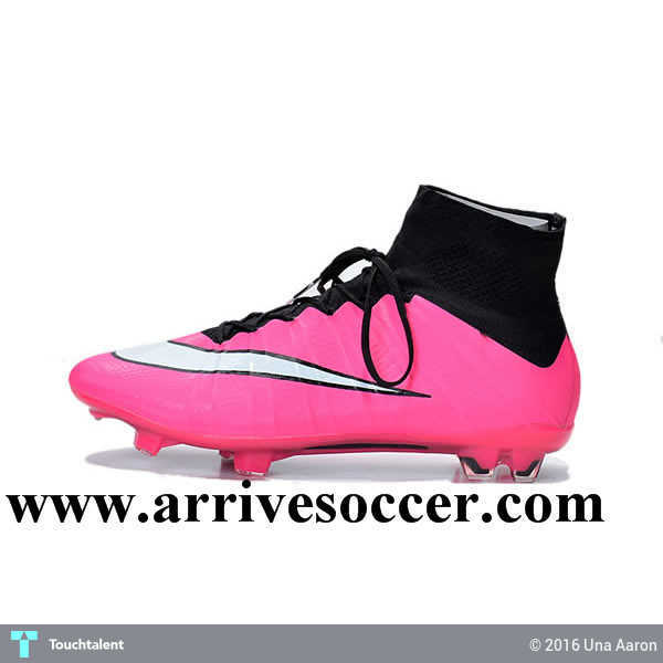 buy popular 318fa 5c91a New Nike Mercurial Superfly FG Soccer Boots Cleats Pink White Black in  Design by Una Aaron