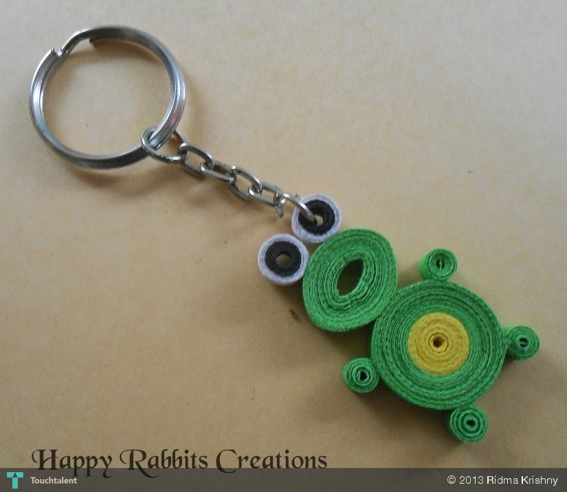 Quilling Paper Crafts Paper Quilling Frog in Crafts