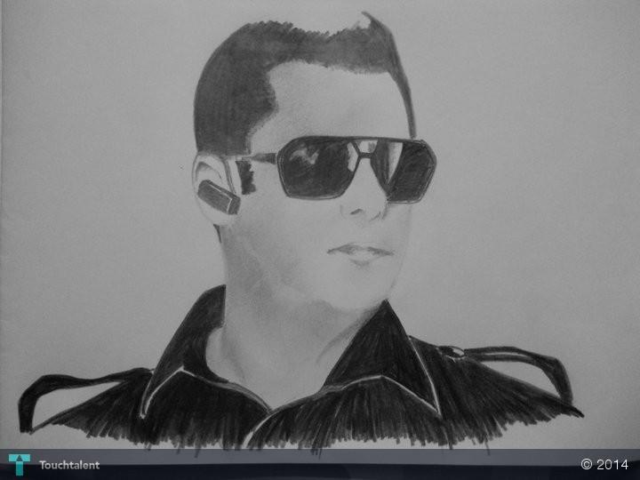 Salman Khan Sketch Wallpaper Salman Khan in Sketching by