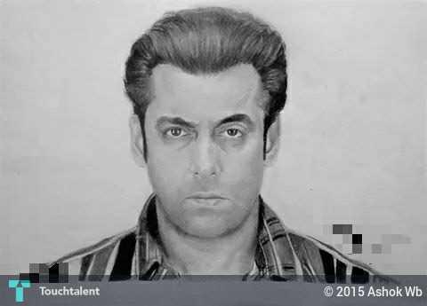 Salman Khan Sketch Wallpaper Salman Khan Sketch in