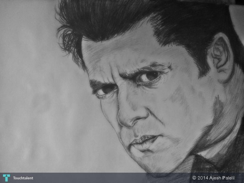 Salman Khan Sketch Wallpaper Salman Khan's Sketch in