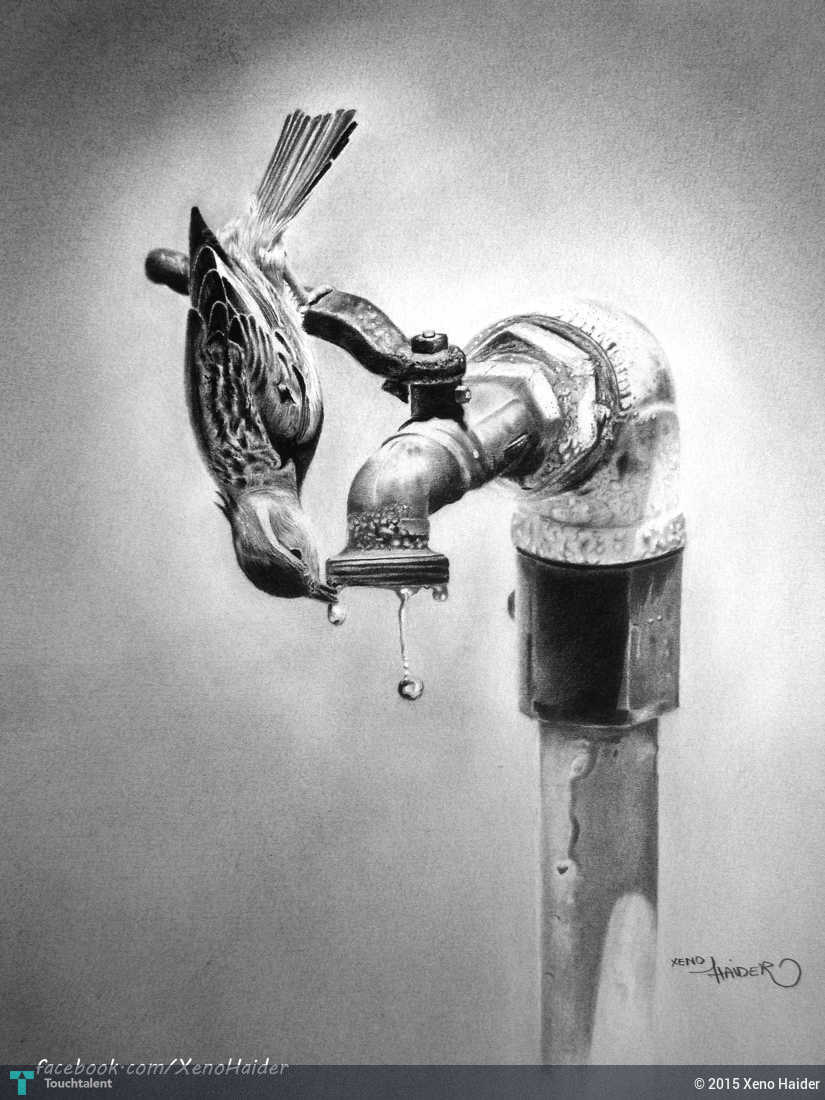 Save water touchtalent for everything creative