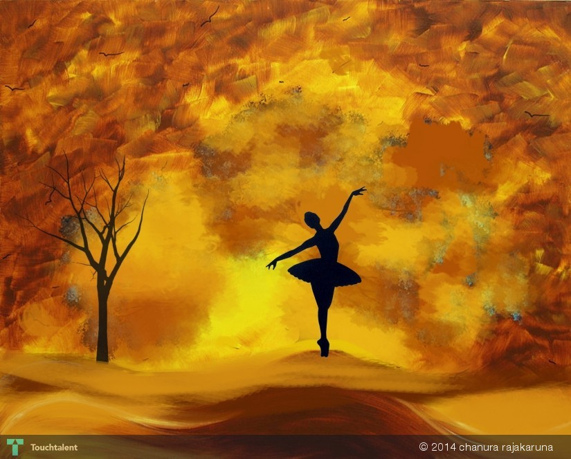 Save The Last Dance For Me in Digital Art