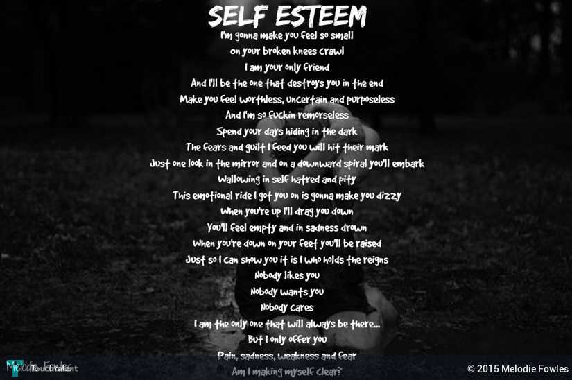 poem about self Poems about myself at the world's largest poetry site ranked poetry on myself, by famous & modern poets learn how to write a poem about myself and share it.