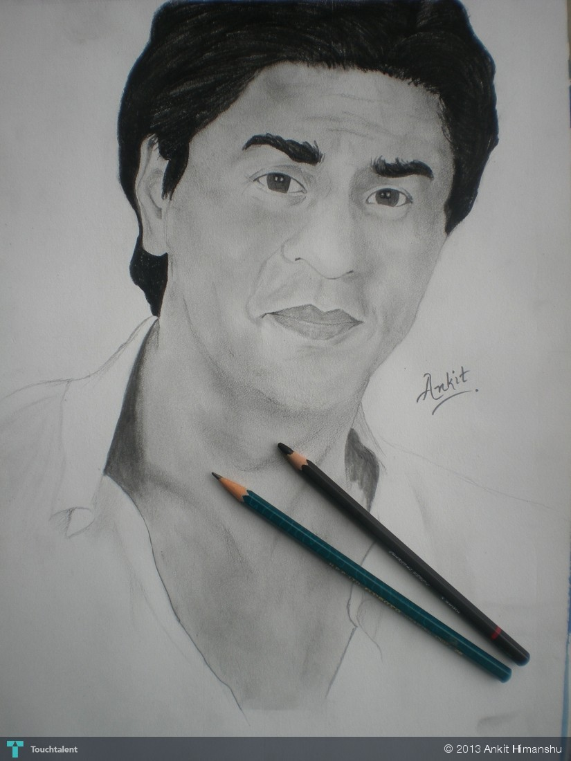 Sketching- Shahrukh