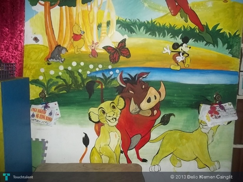 Simba-The-Lion-King-Mural-Painting-141085