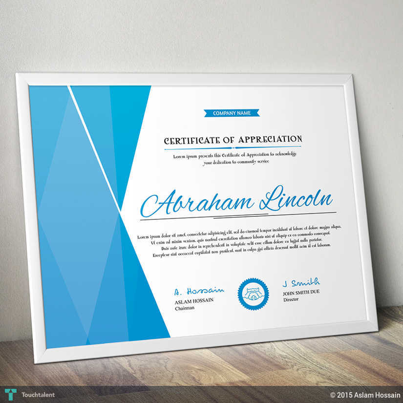 Simply Certificates – Creative Certificate Designs