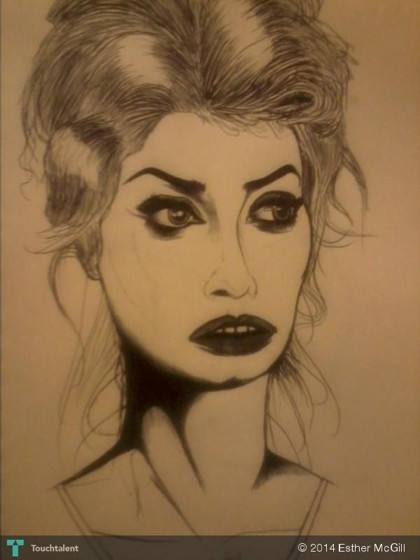 Sophia Loren - Sketchi...