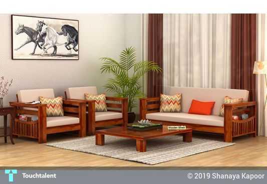 Top Modern Wooden Sofa Designs @ Wooden Street | Touchtalent ...
