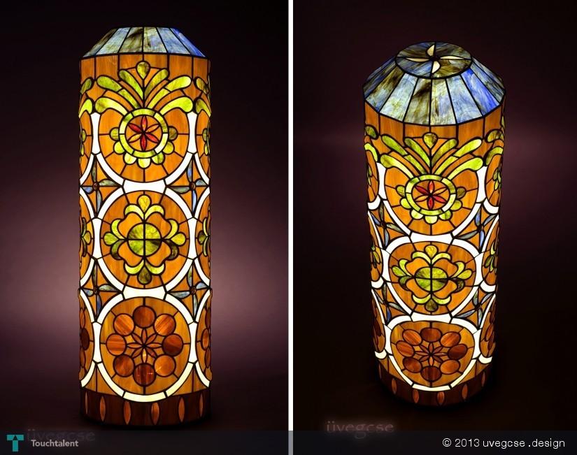 Tree Of Life Lamp - Tiffany Floor Glass - Crafts  Uvegcse .design ...