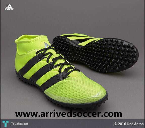 new product 390eb f4398 Adidas ACE 16.3 Primemesh TF Solar Yellow Core Black Silver Metallic in  Fashion by