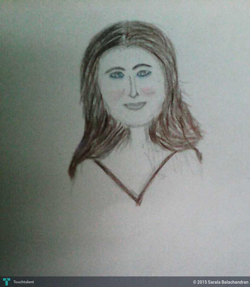 Aishwarya Rai - Sketching | Sarala Balachandran | Touchtalent