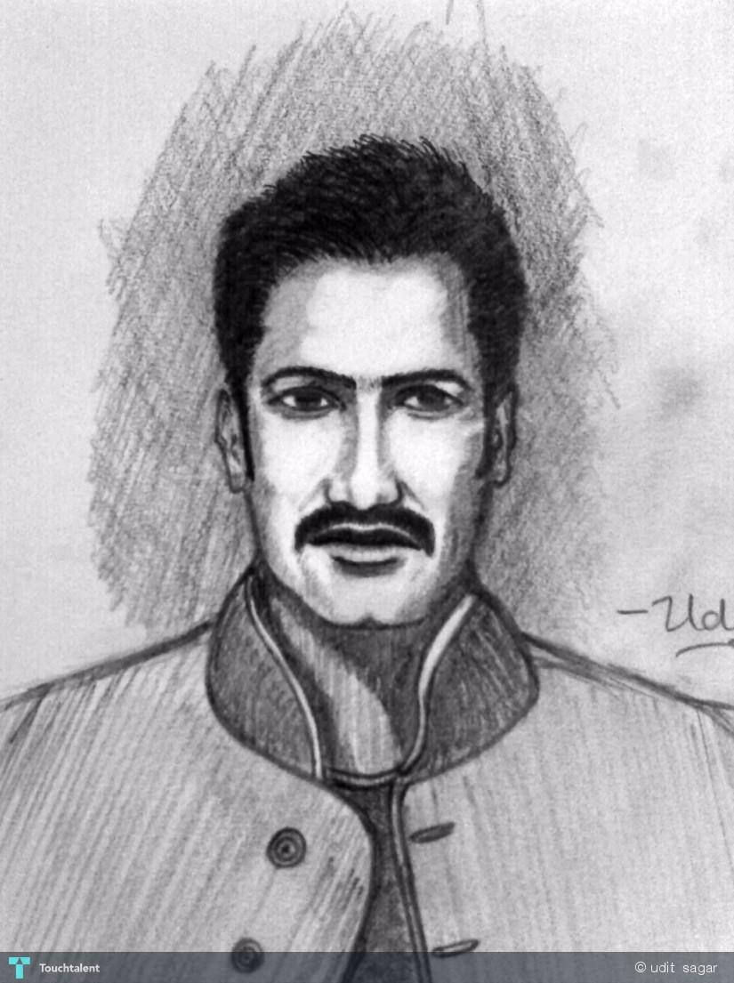 825 x 1105 jpeg 154kB, Ajay Devgan - Sketching | Udit Sagar ...
