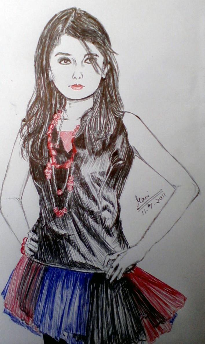 Atti !! - Sketching by Manisha Swarnkar at touchtalent 3842
