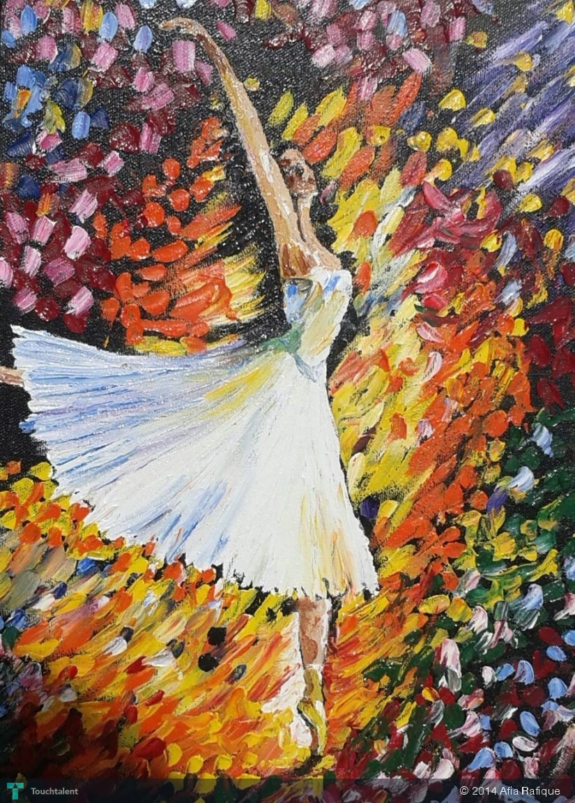 Ballet Dancer in Painting