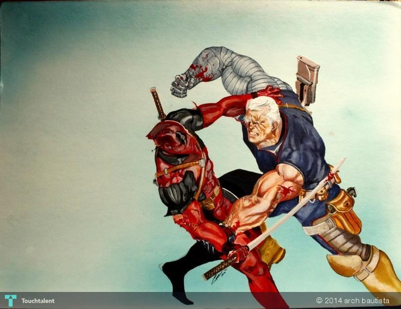 Cable On Deadpool 2