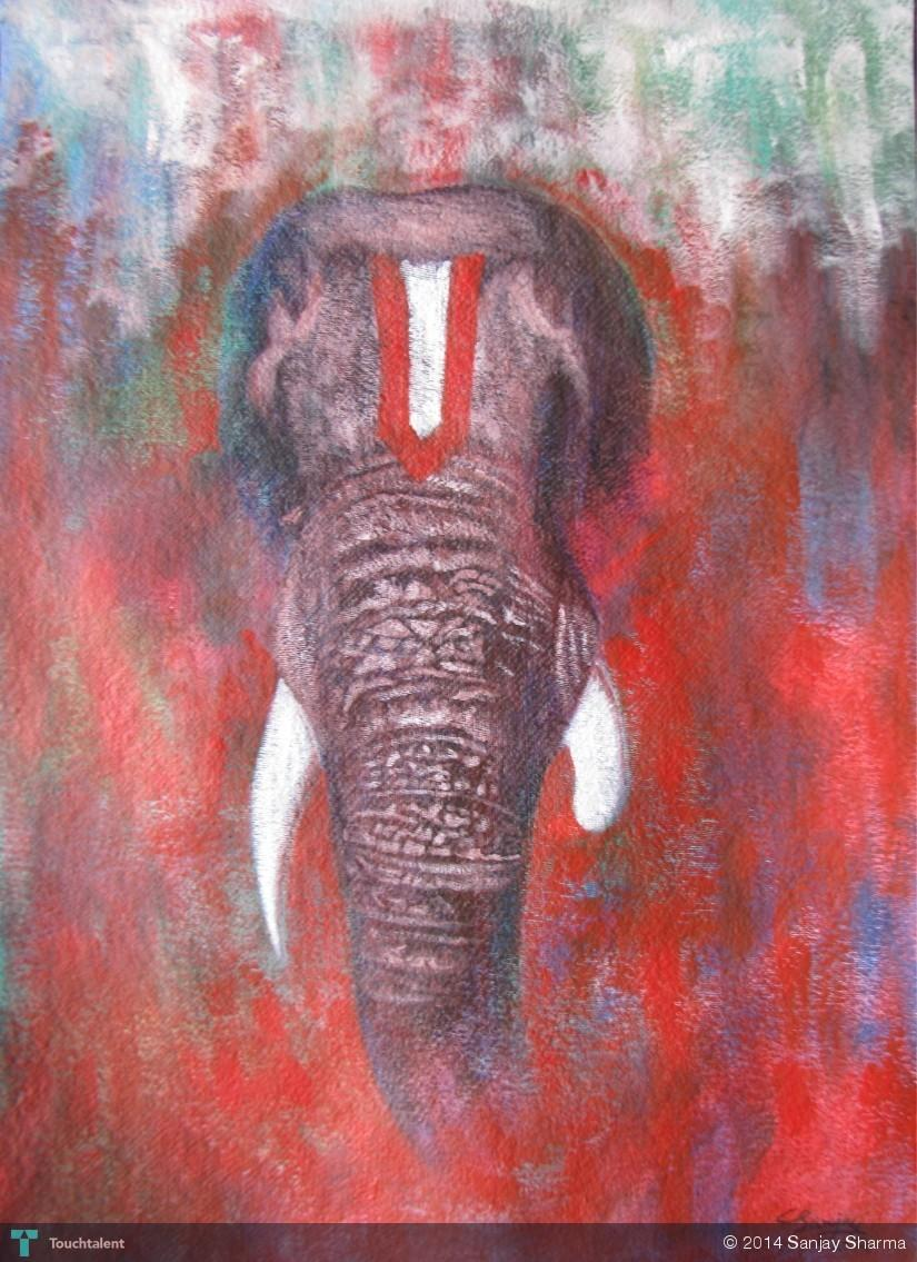 Ganesha in Painting