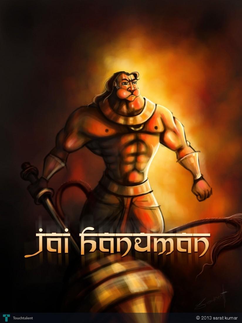 Jay Hanuman Bobble Comics Sarat Kumar Touchtalent